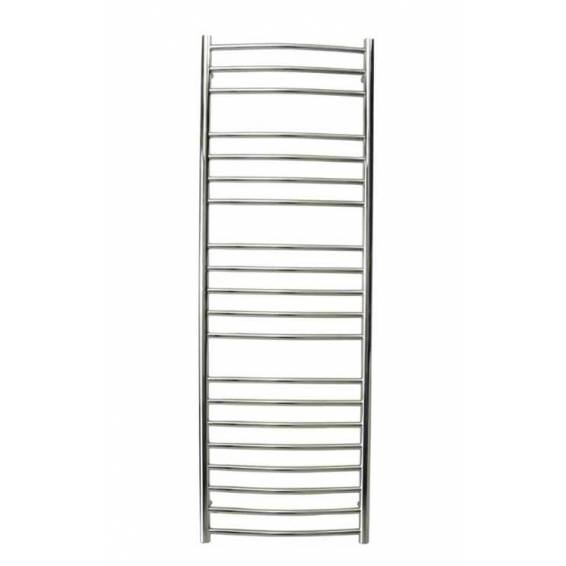 Reina Eos Curved Stainless Steel Heated Towel Rail 1500 x 500mm