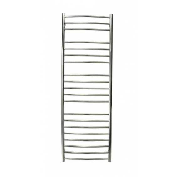 Reina Eos Curved Stainless Steel Heated Towel Rail 1200 x 600mm