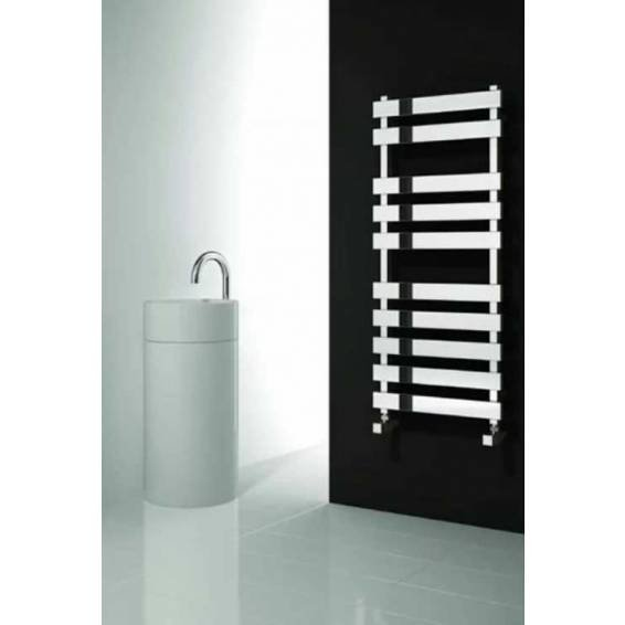 Reina Kreon Stainless Steel Heated Towel Rail 780 x 500mm