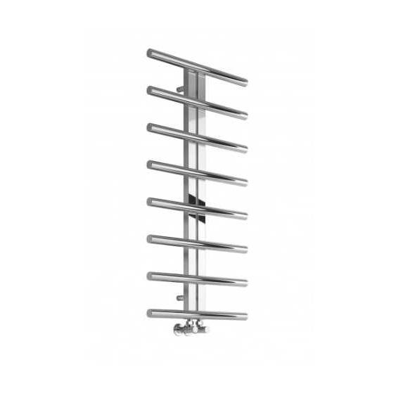 Reina Pizzo Stainless Steel Heated Towel Rail 1000 x 600mm