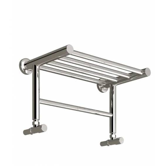 Reina Troisi Stainless Steel Heated Towel Rail 294 x 532mm