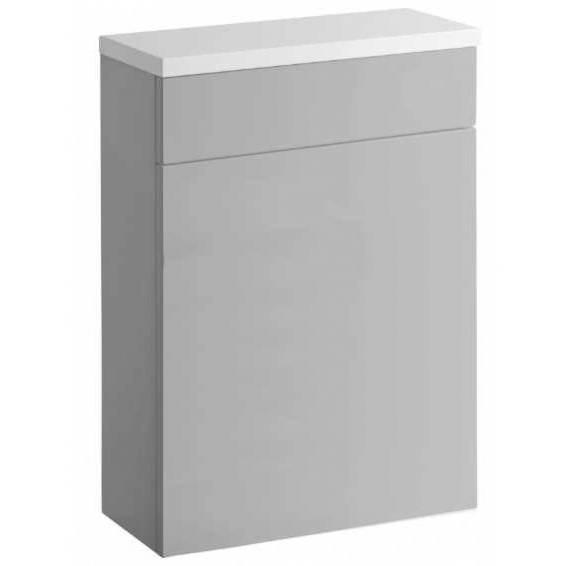 Roper Rhodes 570 Back To Wall WC Unit with Worktop Gloss Light Grey