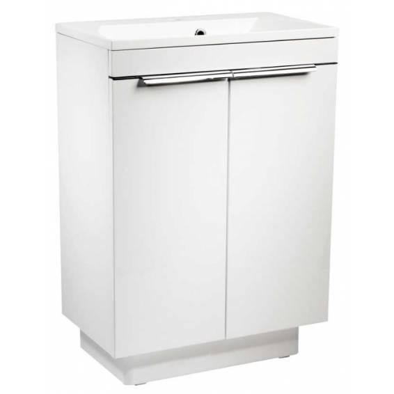 Roper Rhodes Cypher 600mm Freestanding Unit with Basin Gloss White