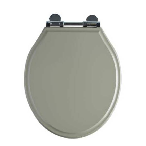 Roper Rhodes Hampton Wooden Soft Close Toilet Seat Painted Mocha