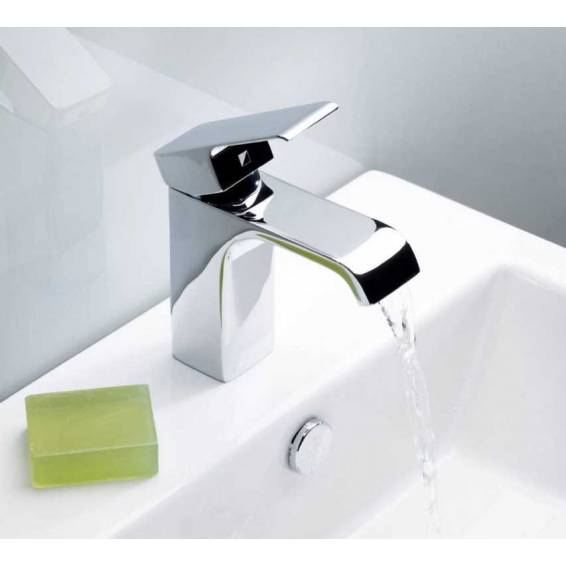 Roper Rhodes Hydra Chrome Basin Mixer Tap with Click Waste