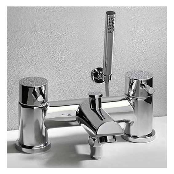 Roper Rhodes Storm Deck Mounted Bath Shower Mixer Tap with Shower Head