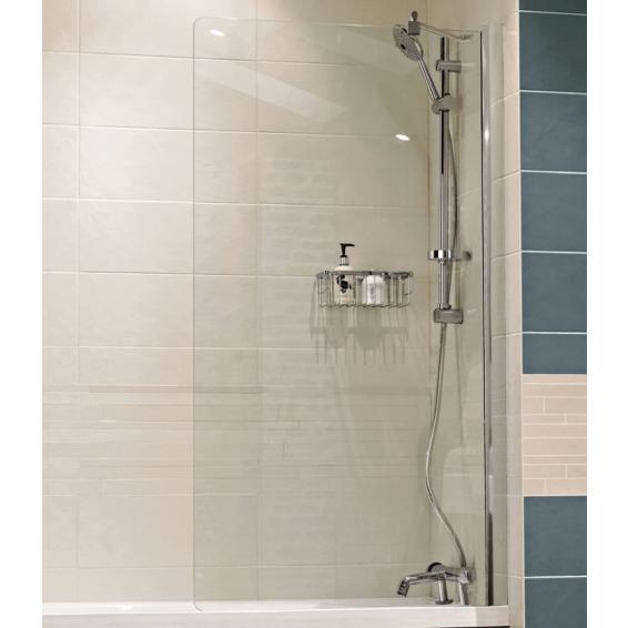Roman Lumin8 8mm Fixed Bath Screen 800mm
