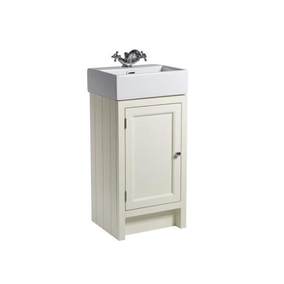 Roper Rhodes Hampton 450mm Cloakroom Unit with Basin Vanilla
