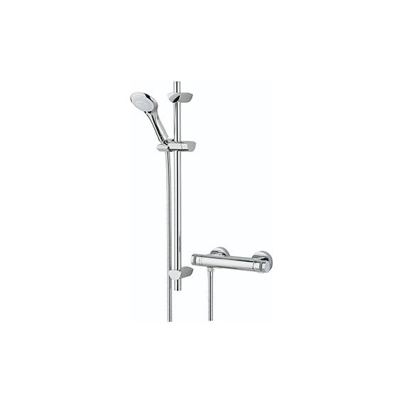 Bristan Artisan Thermostatic Bar Shower with Multi Function Shower Kit