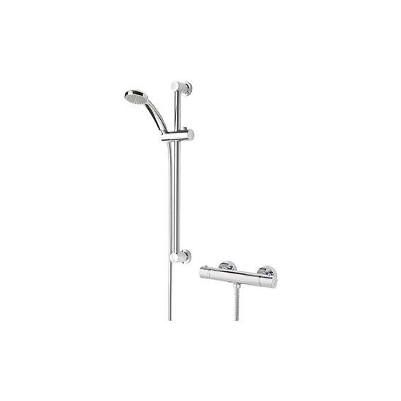Bristan Frenzy Thermostatic Bar Shower with Multi Function Shower Kit