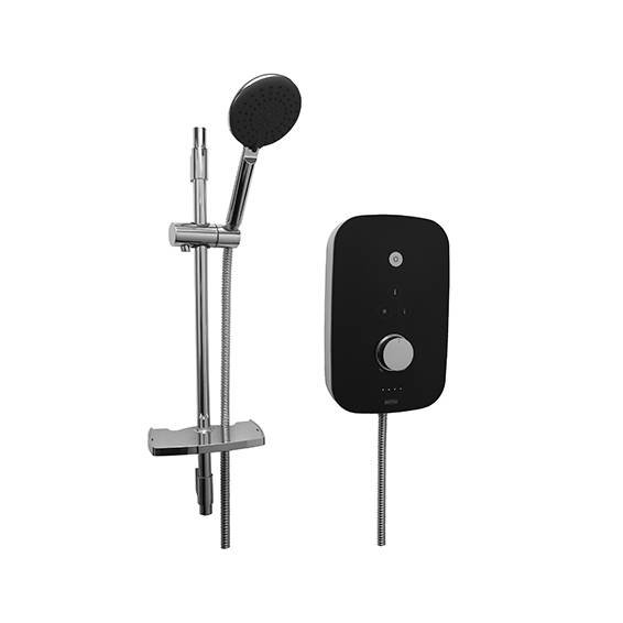 Bristan Noctis 10.5kw Electric Shower Black & Chrome