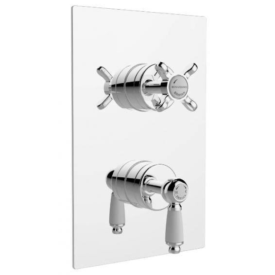 Bristan Renaissance Thermostatic Recessed Single Outlet Shower Valve
