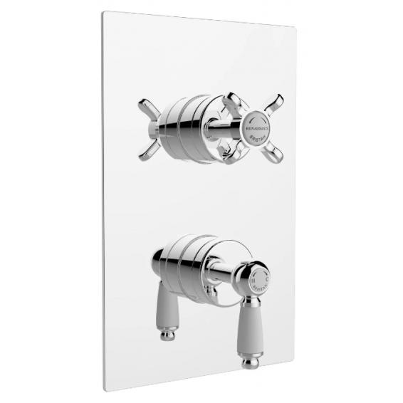 Bristan Renaissance Thermostatic Recessed Two Outlet Diverter Shower Valve