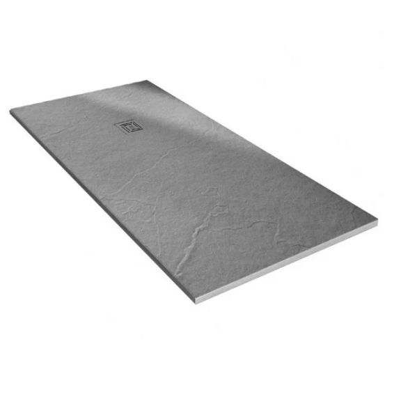 Merlyn Truestone Rectangular Shower Tray 1700 x 800mm Fossil Grey