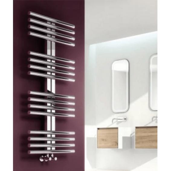 Reina Sorento Stainless Steel Heated Towel Rail 800 x 600mm