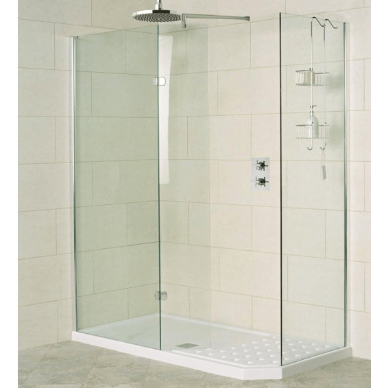 Roman Decem Walk-in Shower Enclosure Alcove Fitting 1700mm