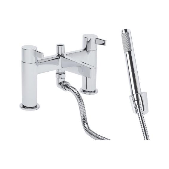 Roper Rhodes Aim Deck Mounted Bath Shower Mixer Tap with Shower Head