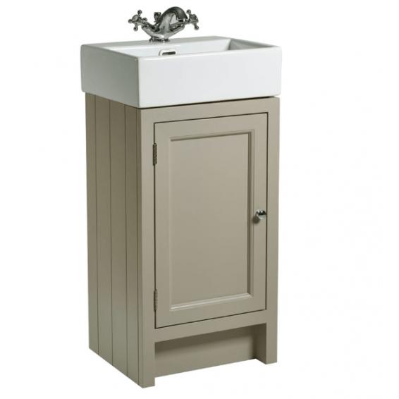 Roper Rhodes Hampton 450mm Cloakroom Unit with Basin Mocha