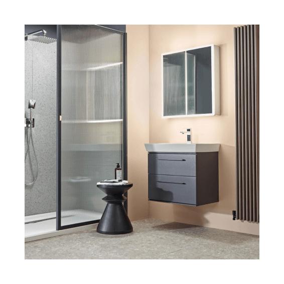 Roper Rhodes Purpose 2 Door Recessed Bathroom Cabinet 650mm