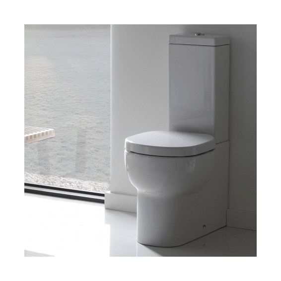 Roper Rhodes Zest Close Coupled Fully Enclosed WC