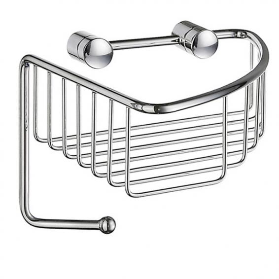 Smedbo Sideline Corner Soap Basket Polished Chrome 165 x 165 x 60mm