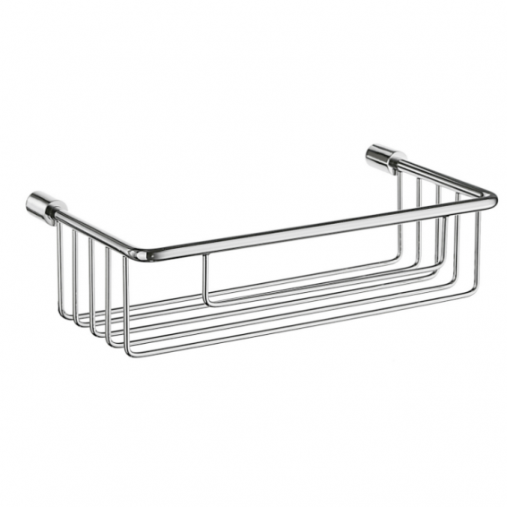 Smedbo Sideline Soap Basket Polished Chrome 215 x 117 x 60mm