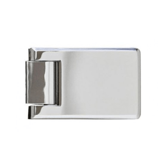Roman Decem Hinged Shower Door with Square Hardware Alcove Fitting 760mm