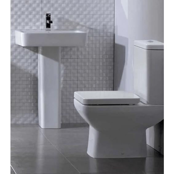 Tavistock Ion 570mm Ceramic Basin with Pedestal