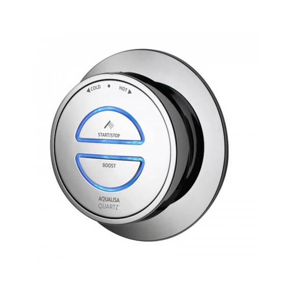 Aqualisa Quartz Smart Digital Concealed Shower with Adjustable Head Gravity Pumped
