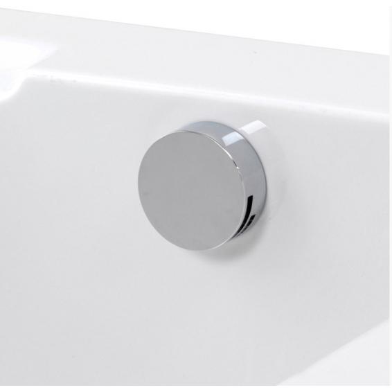Aqualisa Quartz Smart Divert Concealed Shower with Adjustable Head & Bath Overflow Filler Gravity Pumped