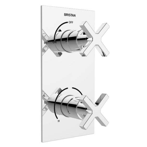 Bristan Casino Single Outlet Thermostatic Recessed Shower Valve