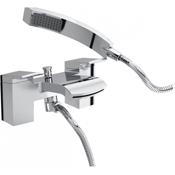 Bristan Descent Bath Shower Mixer Chrome
