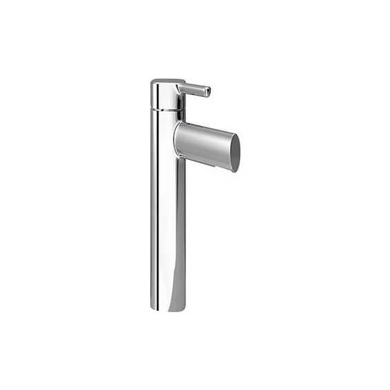 Bristan Flute Tall Basin Mixer with Clicker Basin Waste Chrome