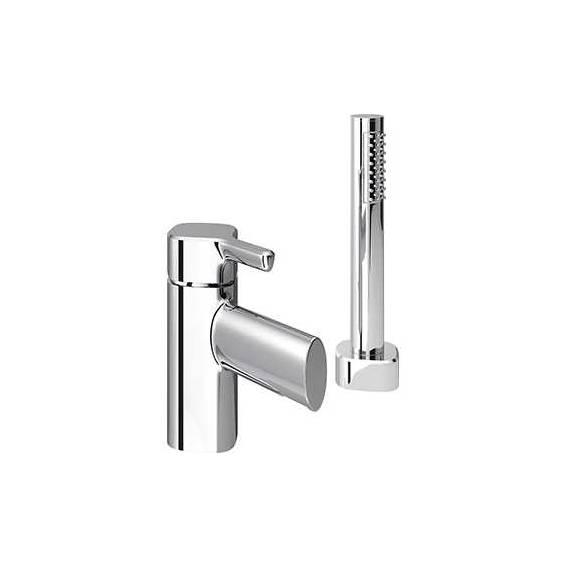 Bristan Flute Two Hole Bath Shower Mixer Chrome