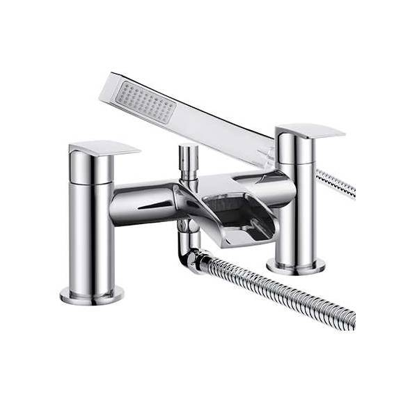Bristan Glide Waterfall Bath Shower Mixer Chrome