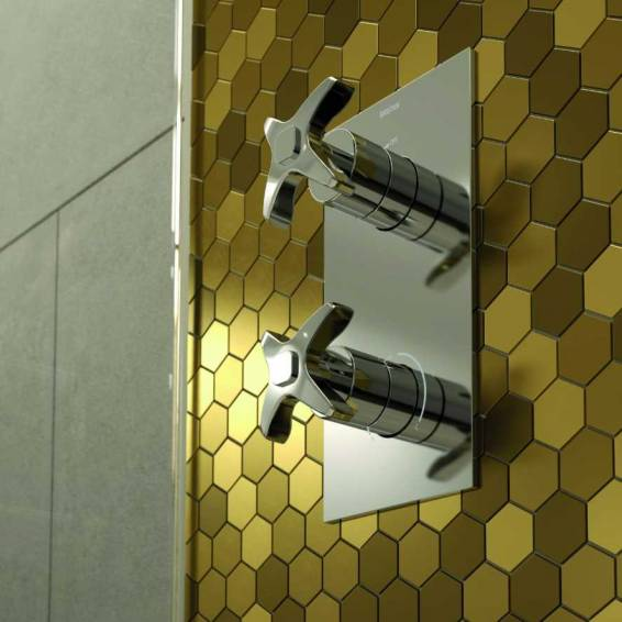 Bristan Glorious Thermostatic Single Outlet Recessed Shower Valve