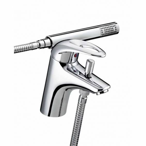 Bristan Java One Hole Bath Shower Mixer Chrome