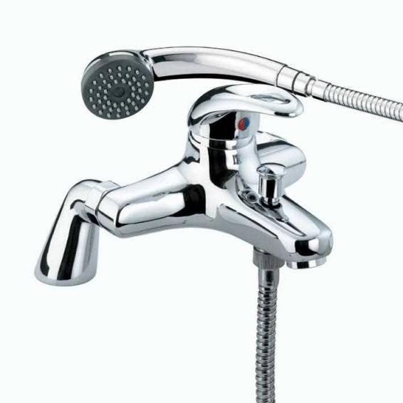 Bristan Java Pillar Bath Shower Mixer Chrome