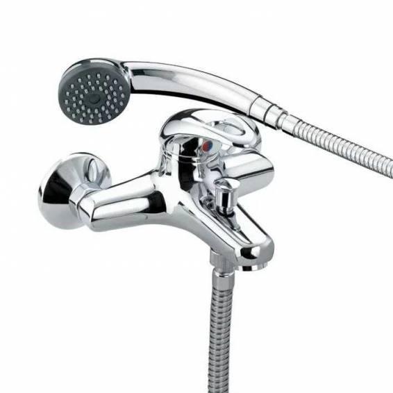 Bristan Java Wall Mounted Bath Shower Mixer Chrome