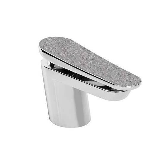 Bristan Metallix Claret One Hole Bath Filler Silver Sparkle