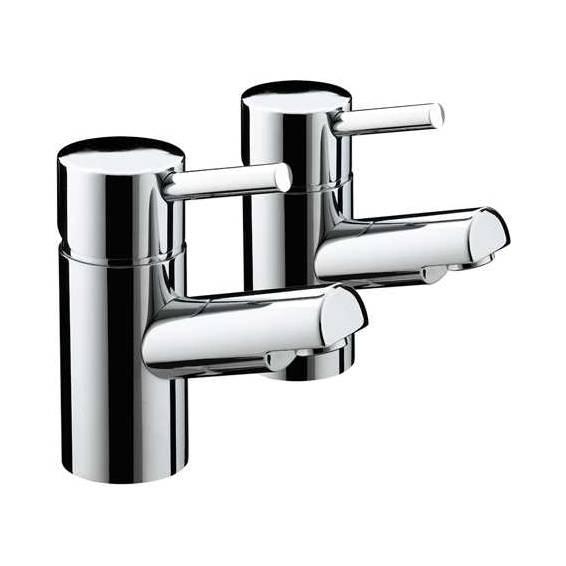 Bristan Prism Bath Taps Pair Chrome