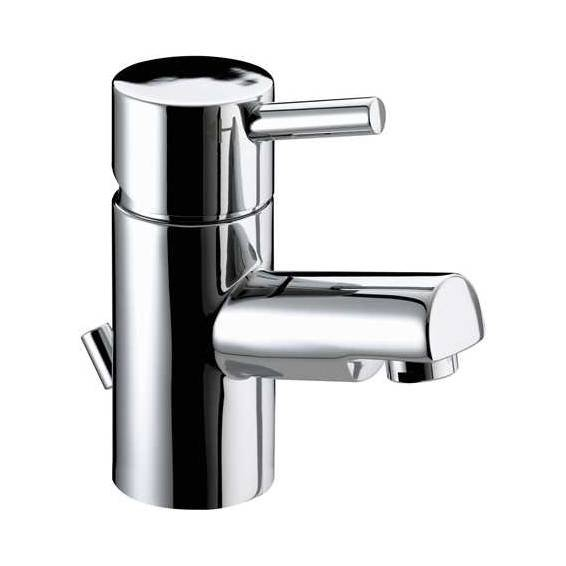 Bristan Prism Small Basin Mixer with Pop up Basin Waste Chrome
