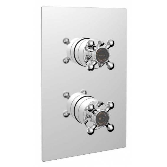 Bristan Trinity Thermostatic Recessed Single Outlet Shower Valve