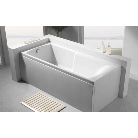 Carron Apex Single Ended Carronite Bath 1700 x 800mm