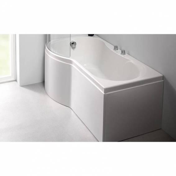 Carron Arc Curved Shower Carronite Bath 1700 x 700/850mm Right Hand