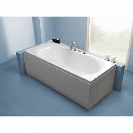 Carron Arc Double Ended Carronite Bath 1700 x 750mm