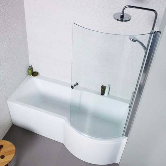 Carron Aspect Shower Bath 1700 x 700/800mm Right Hand