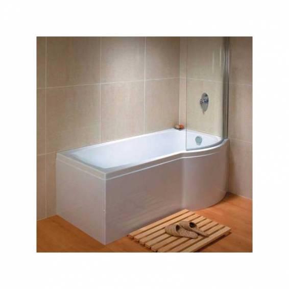 Carron Aspect Shower Carronite Bath 1700 x 700/800mm Right Hand