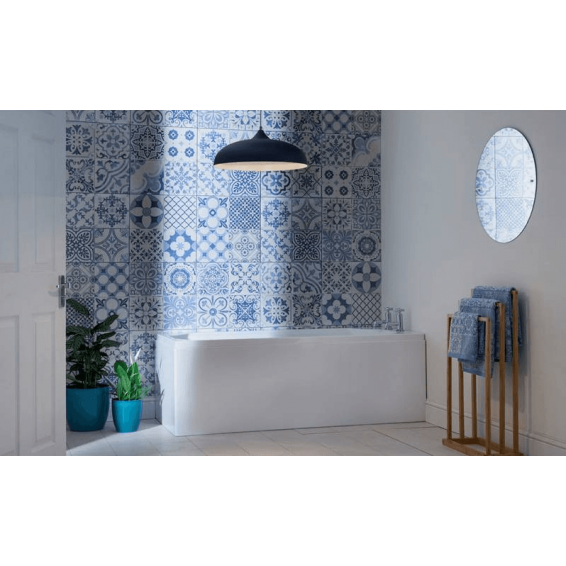 Carron Camden Single Ended Carronite Bath 1650 x 700mm