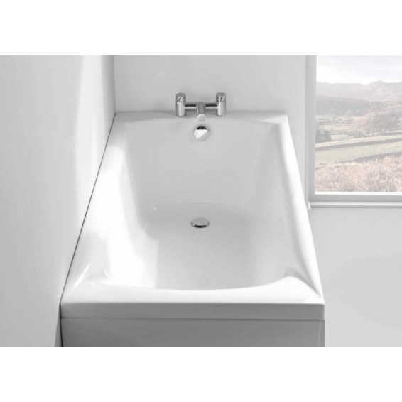 Carron Delta Single Ended Carronite Bath 1400 x 700mm